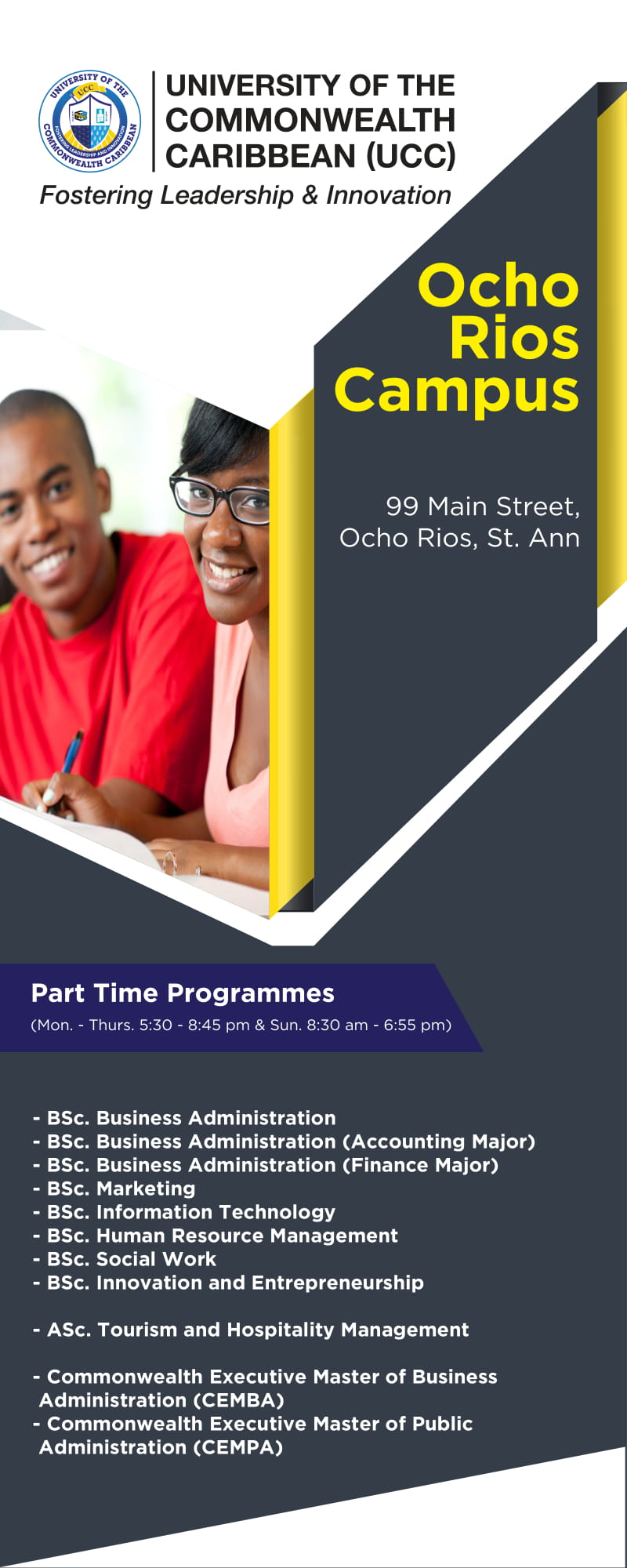 Ocho Rios Campus   The University of the Commonwealth Caribbean