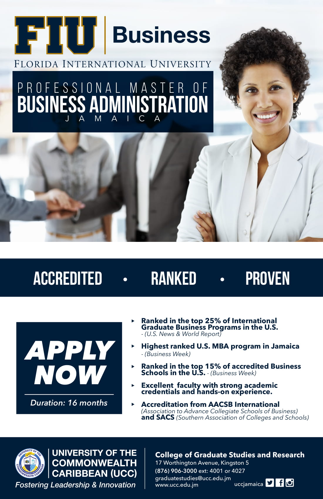 Professional Master of Business Administration (PMBA) | The