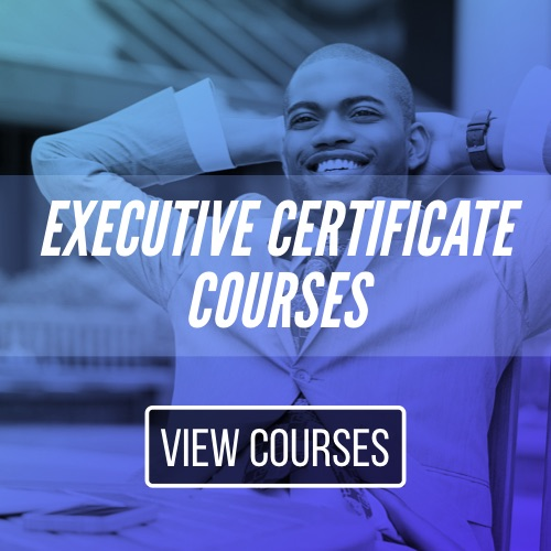Executive Certificate Courses