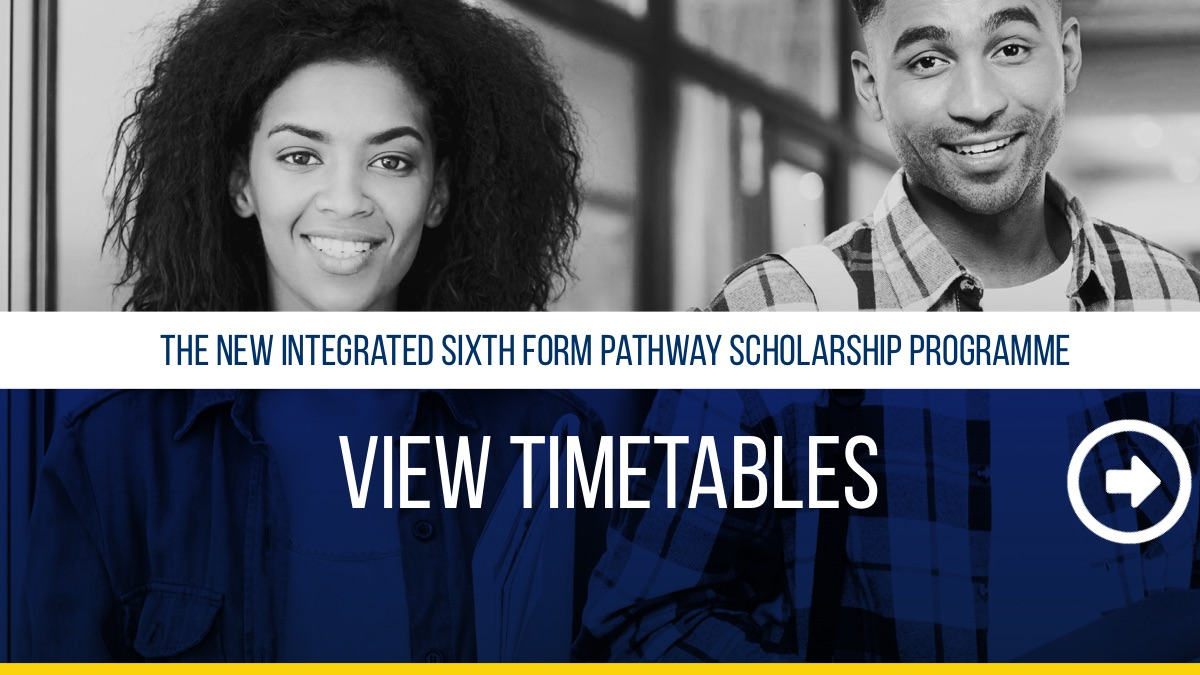 View Timetables - Sixth Form Pathway Programme